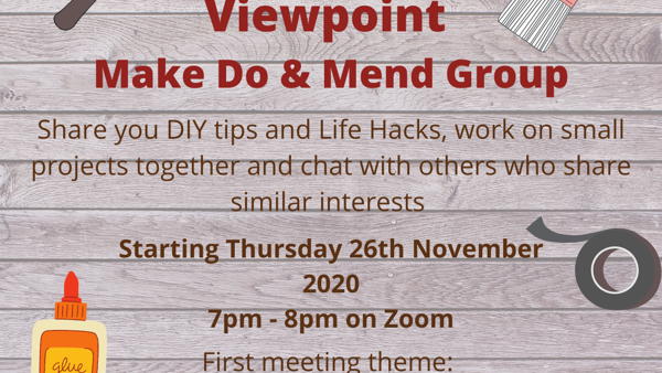 Our new 'Make do and Mend' Online Group