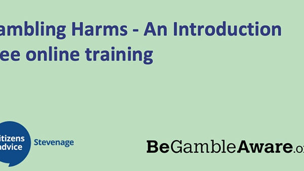 Free Gambling Awareness and Harms online Training